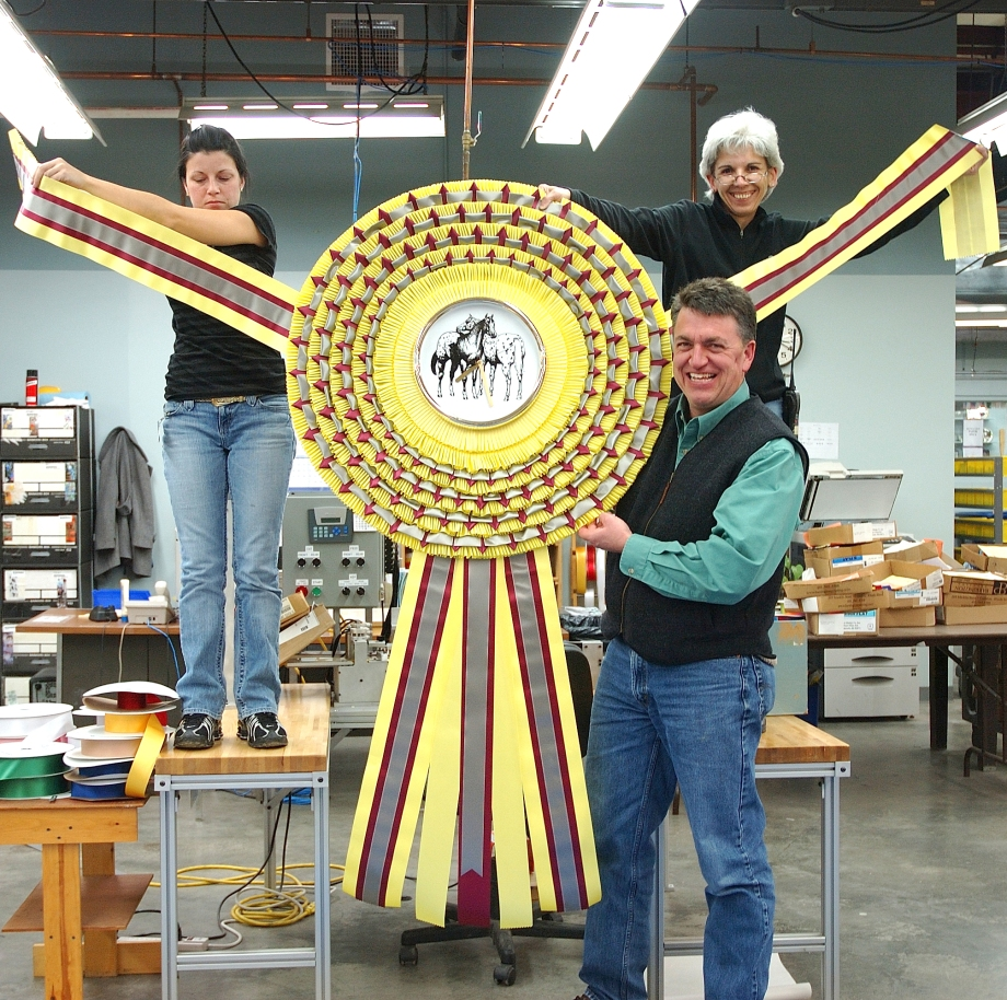 World's Largest Rosette?