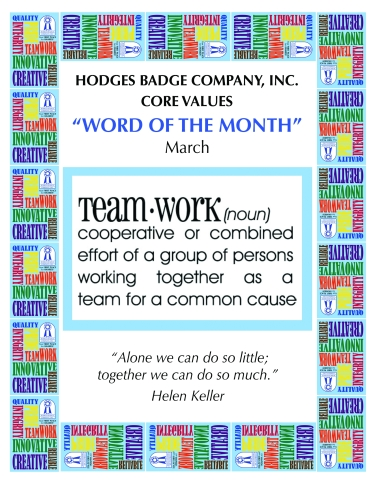 Core-Values-Word-of-Month Poster