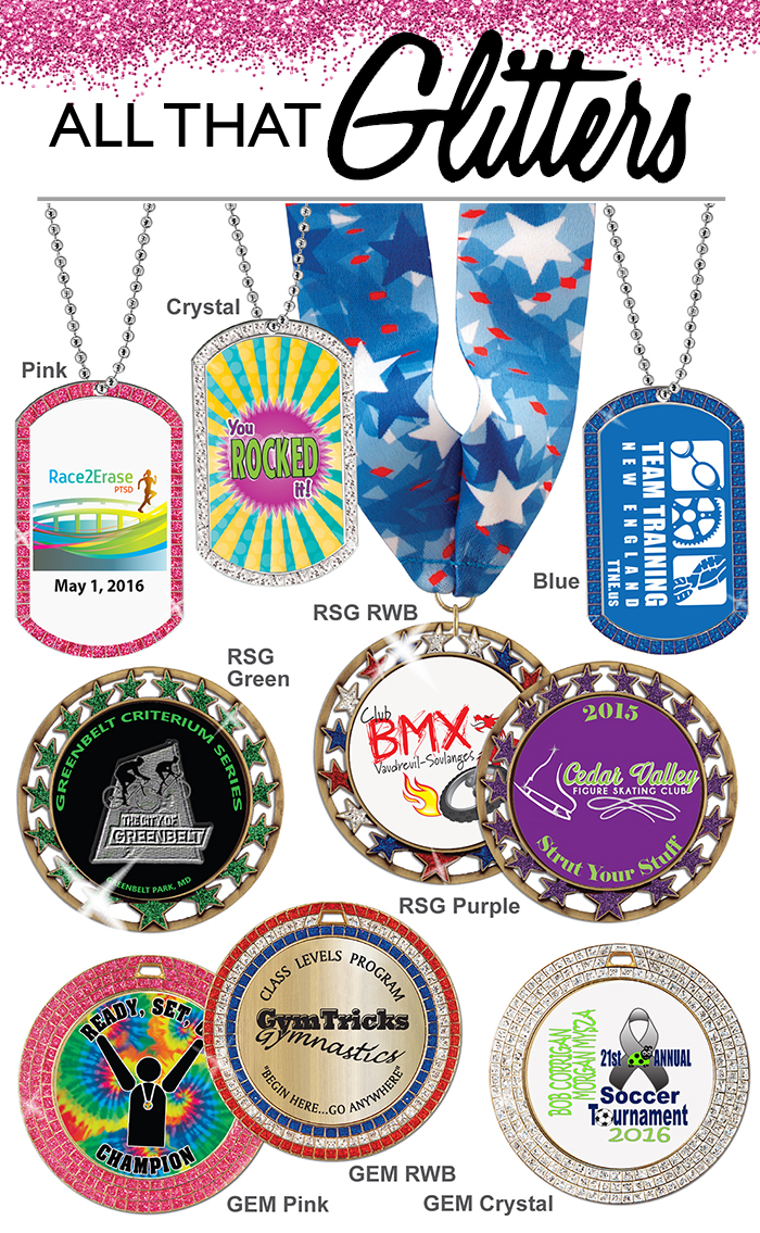 GEM Award Medals - All that Glitter
